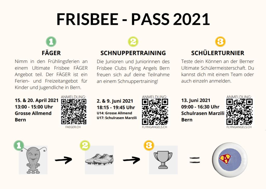 Frisbee - Pass 2021